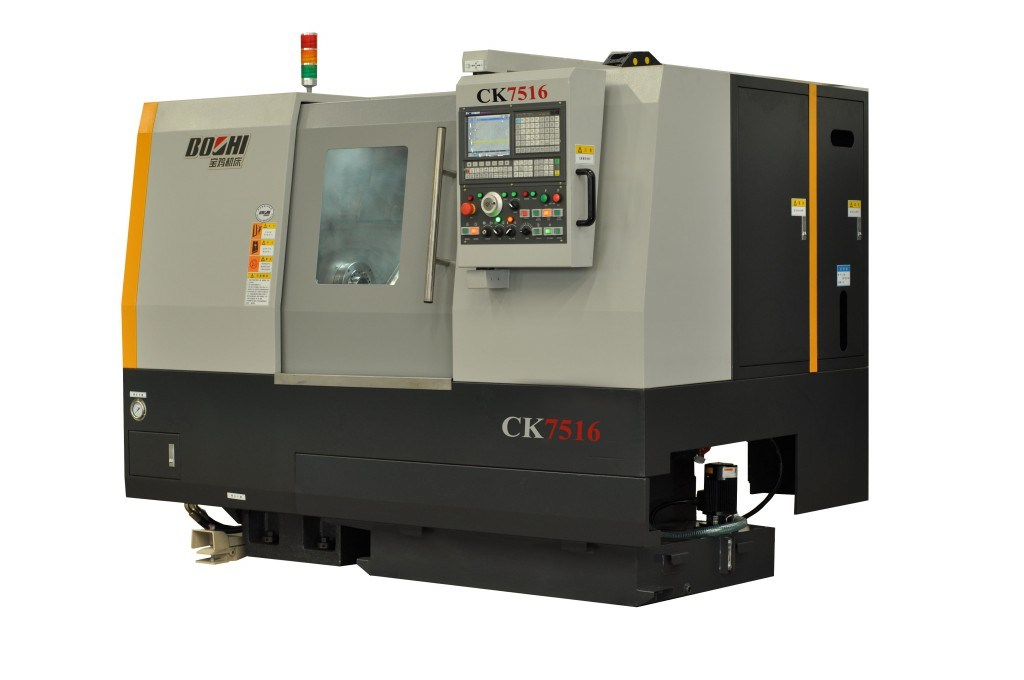 Ck7516 Series Slant-Bed CNC Lathe for Metal Processing