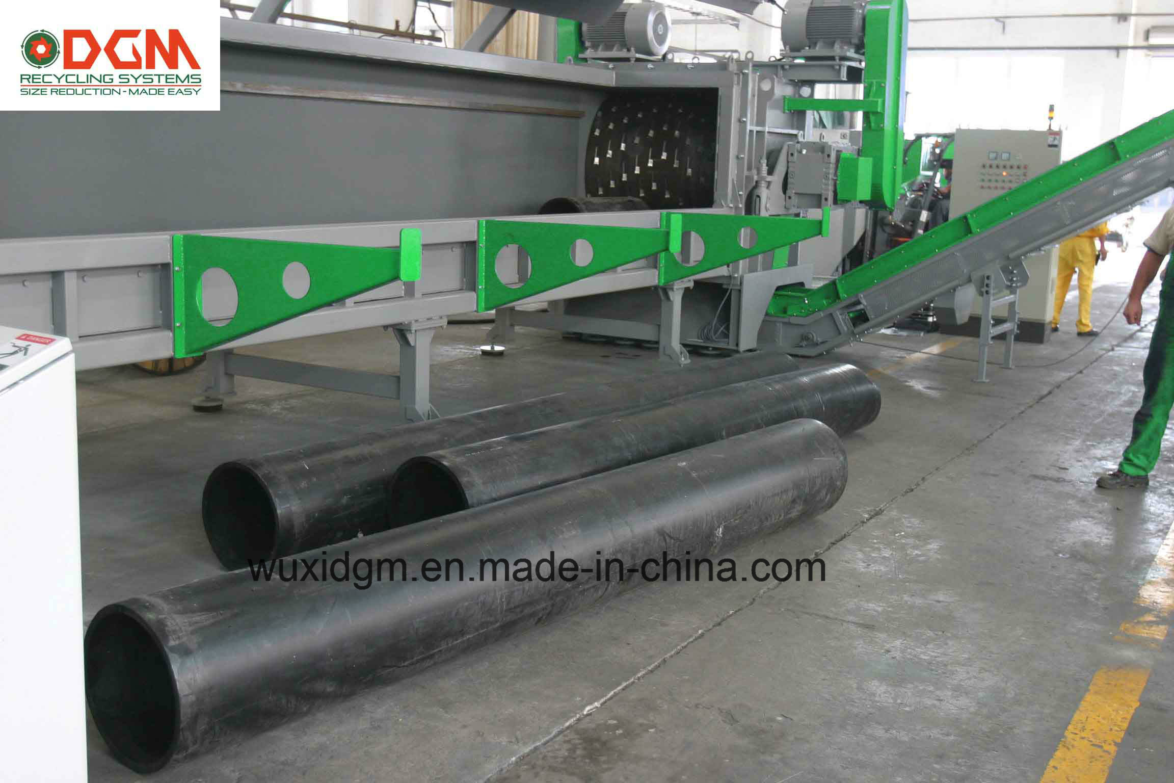 Dgr1500 Pipe Profile Shredders Increase Value of Your Pipe