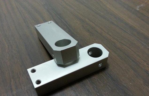 CNC Turning Aluminum Part