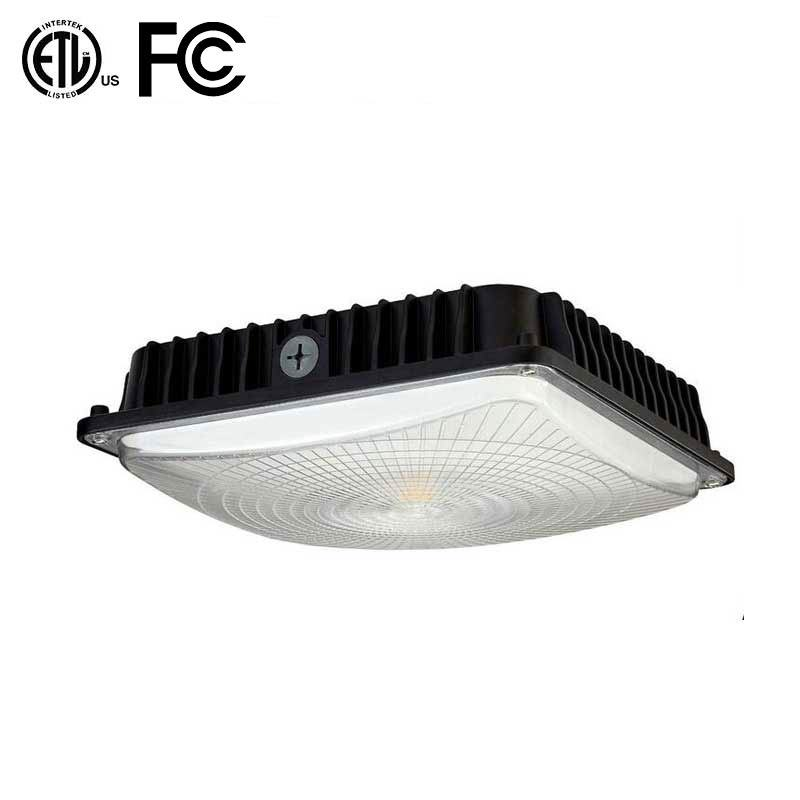 ETL High Lumen LED Gas Station Canopy Lights