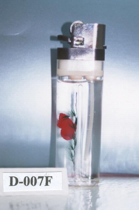 China Flint Lighter With Flower Inside China Flint