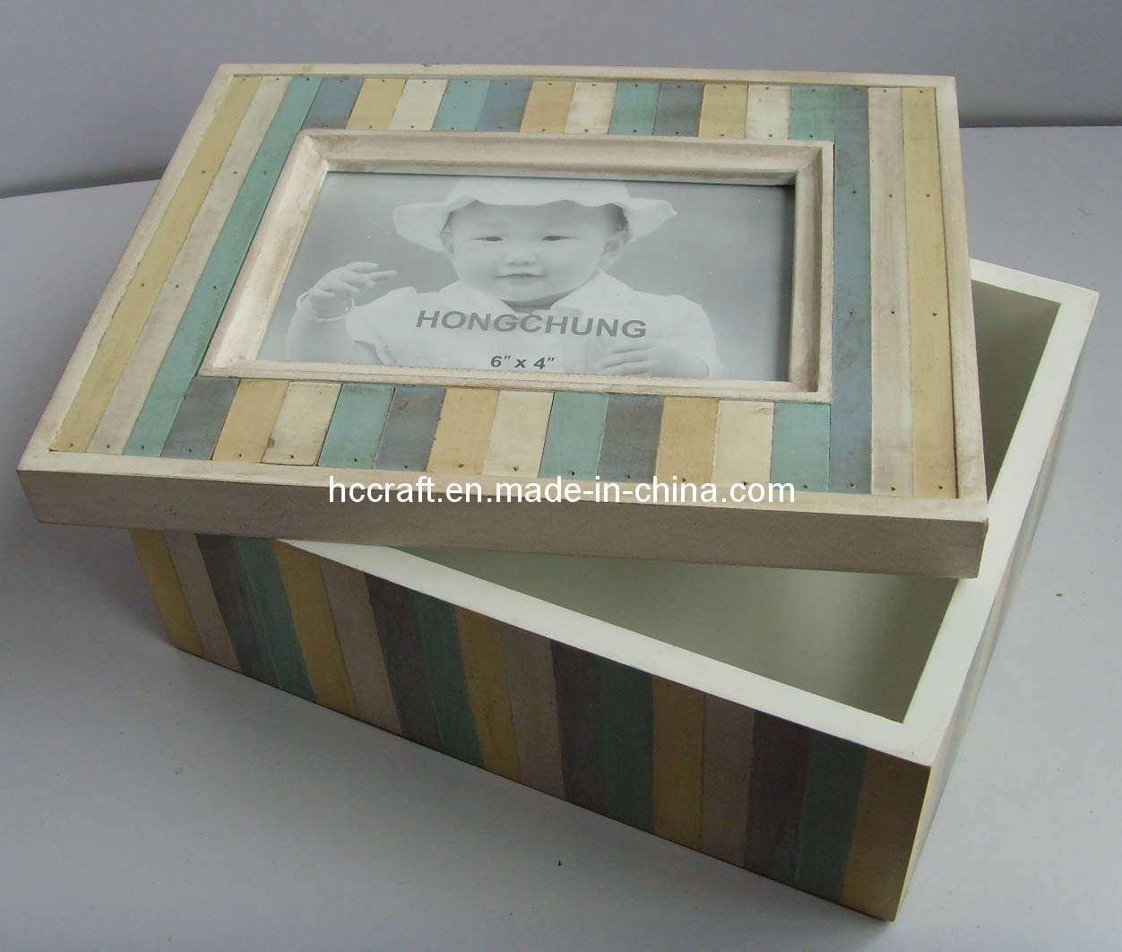 Wood Box Frame : China New Antique Wooden Box Frame with Opening (628019) Photos ...