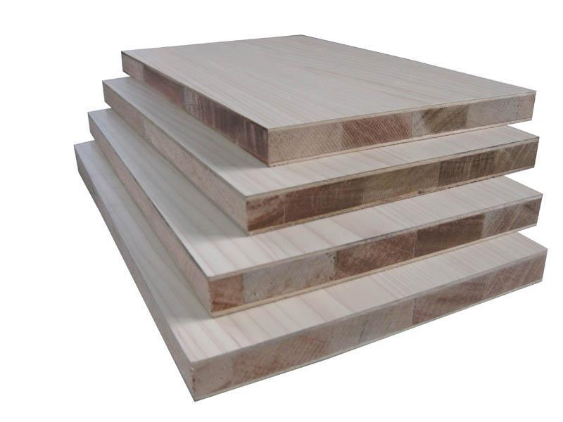 Melamine Falata/Paulownia Core Block Board for Export