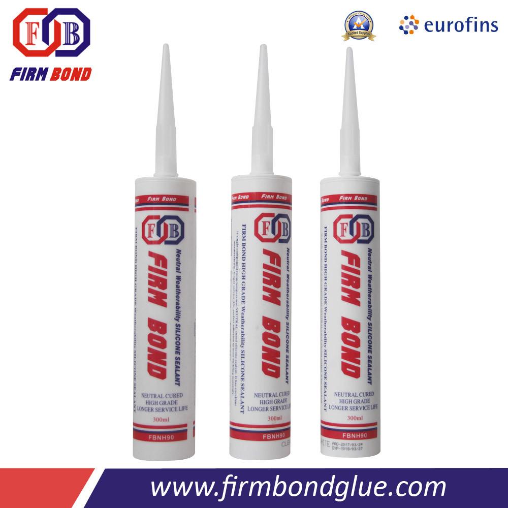300ml White/Clear/Black 100% RTV Silicone Sealant