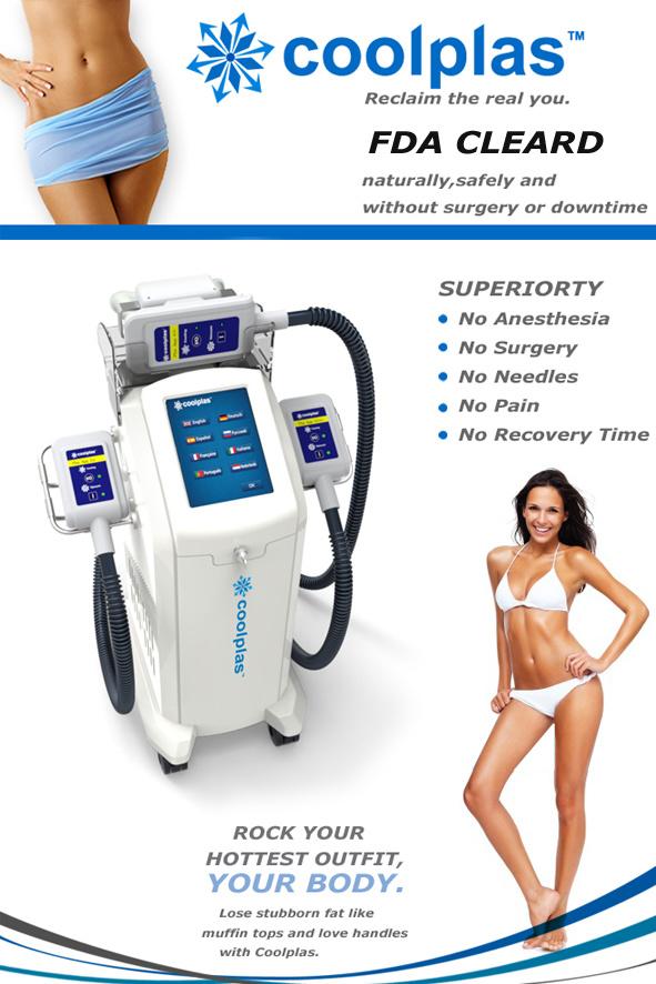 Cryolipolysis Body Shaping Beauty Equipment Vacuum Coolsculpting Machine