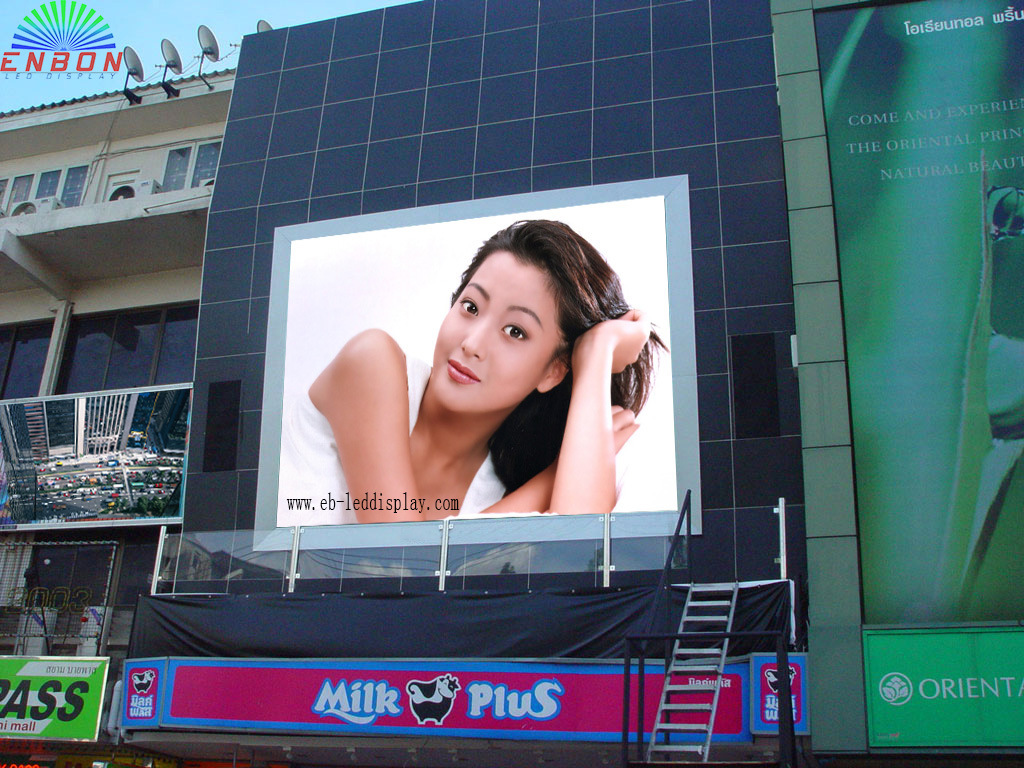 Popular P10 Outdoor Waterproof High Brightness LED Display Screen (10*6m-4*3m-6*4m)