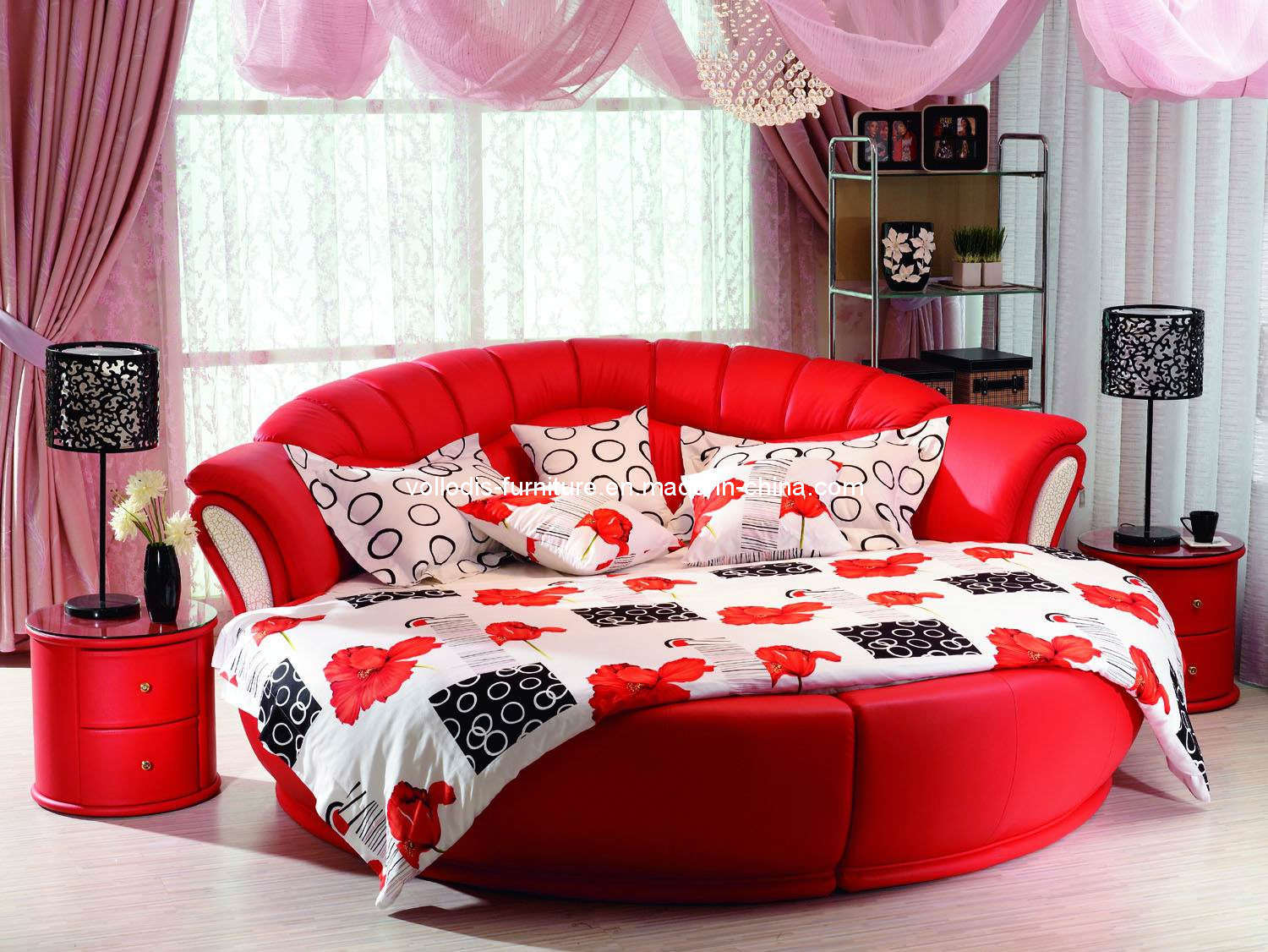 rainbow tz blog the bedroom modern round leather beds