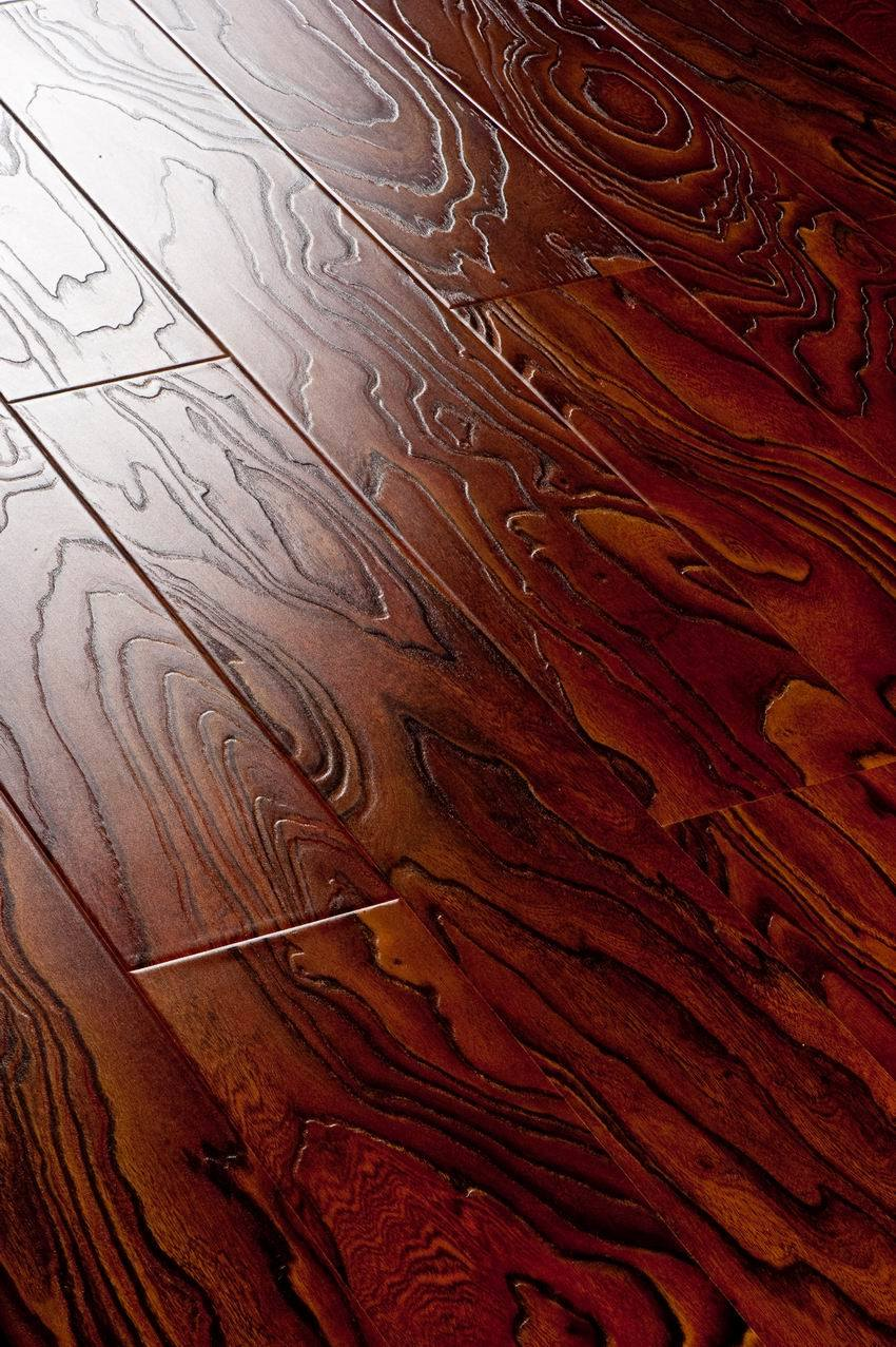 China wood grain laminated wood flooring sg d505 china for Laminated wood