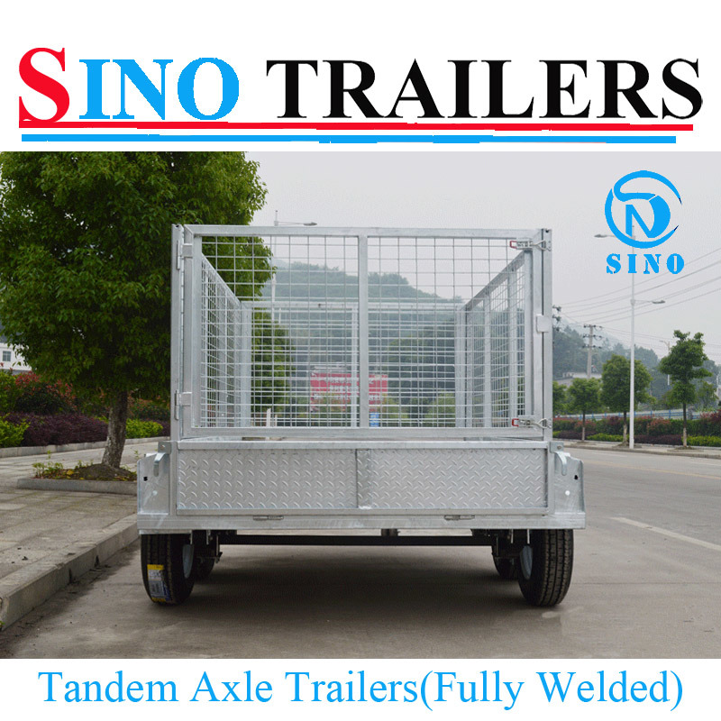 12X6 Fully Welded Tandem Axle Trailer