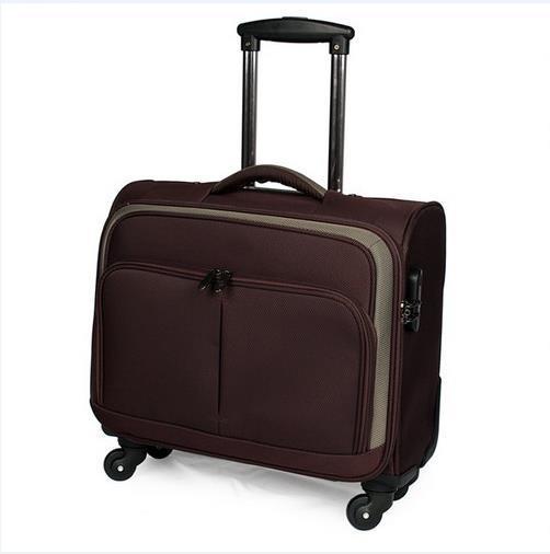 Black Stylish Durable Travel Luggage Bag (ST7130)