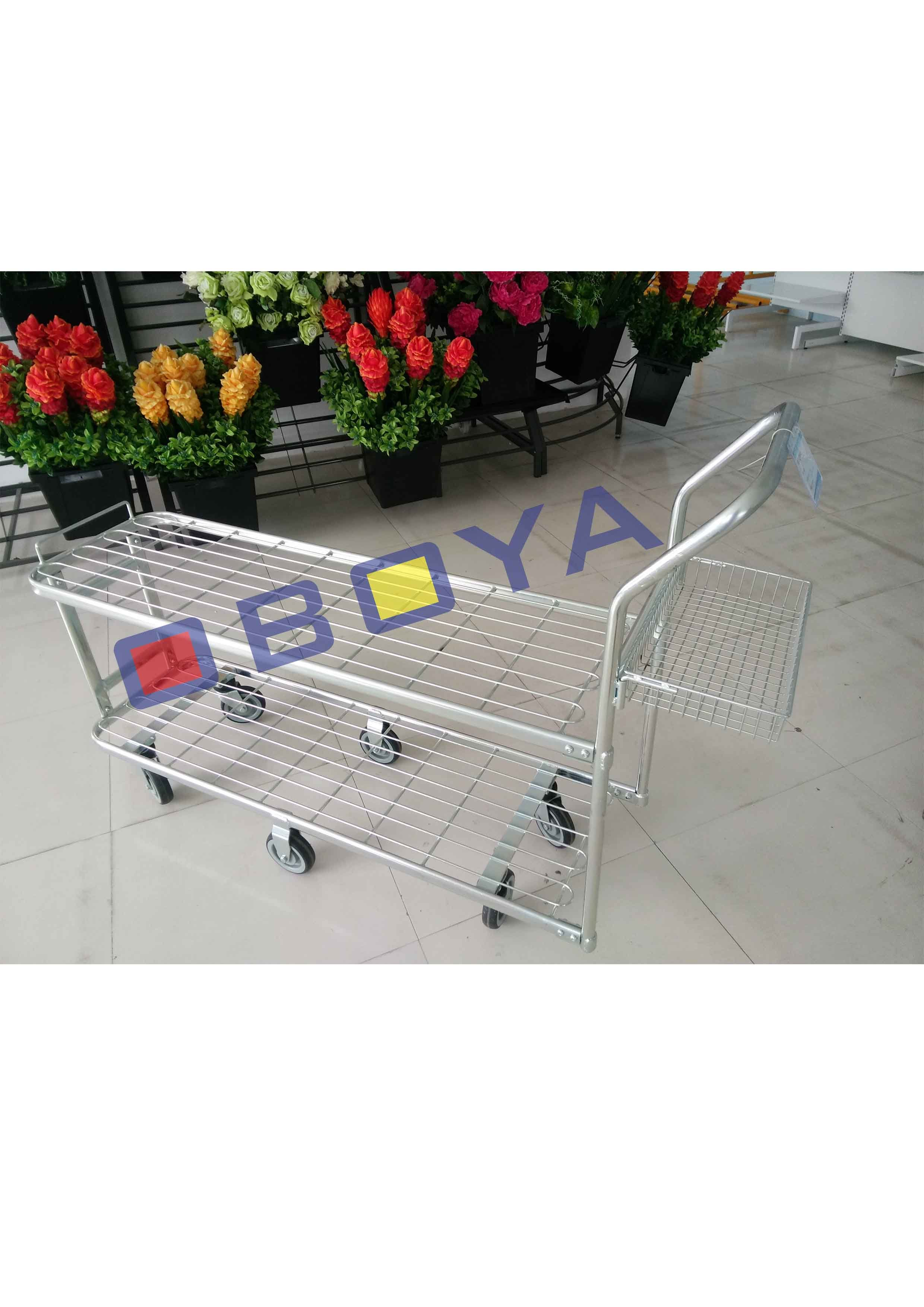Senior Trolley with Six Wheels for Logistic