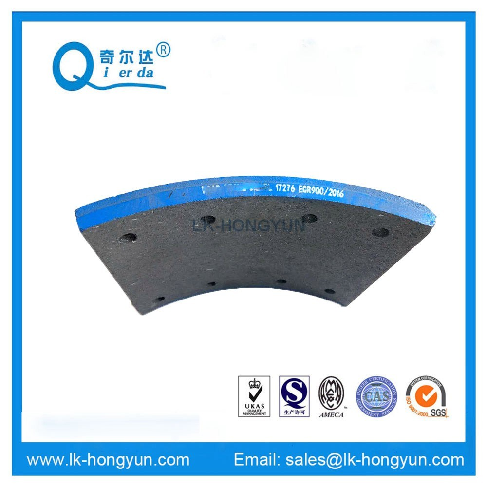 17276 Friction Material for Benz Trucks Brake Parts