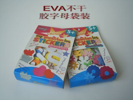 Various Letters EVA Stickers