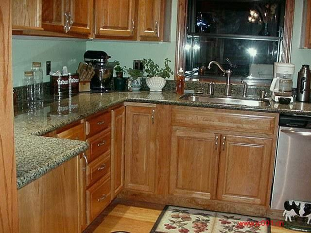 Kashmir Gold Granite Kitchen Countertop
