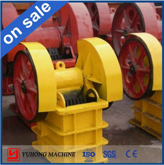 Yuhong Hot Sale Small Jaw Crusher CE Approved