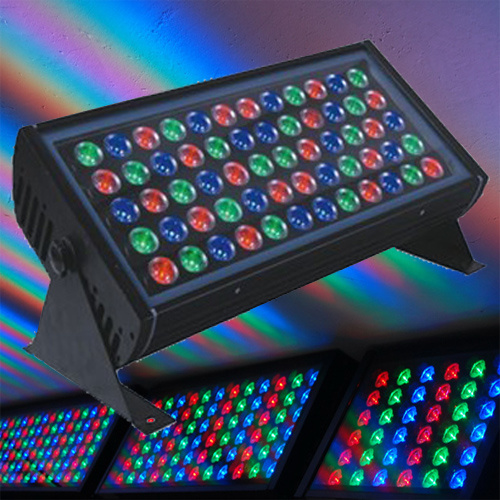 LED Spot Light/Outdoor Wall Wash Lighting 48PCS*3W RGB LEDs