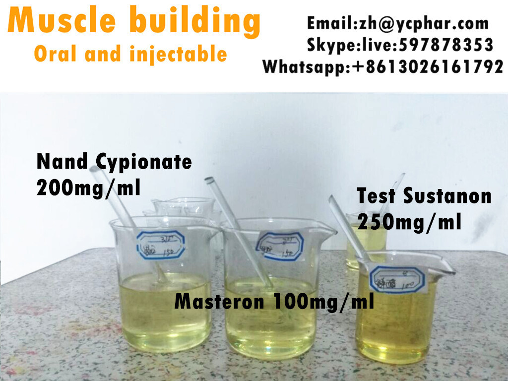 Pre-Mixed Injection Oil Drostanolone Propionate (Masteron) 100mg/Ml