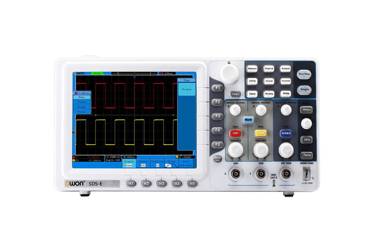 OWON 100MHz 1GS/s Economical Digital Oscilloscope (SDS7102E)