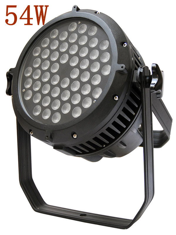 CE RoHS High Power 54W PAR LED Stage Lighting