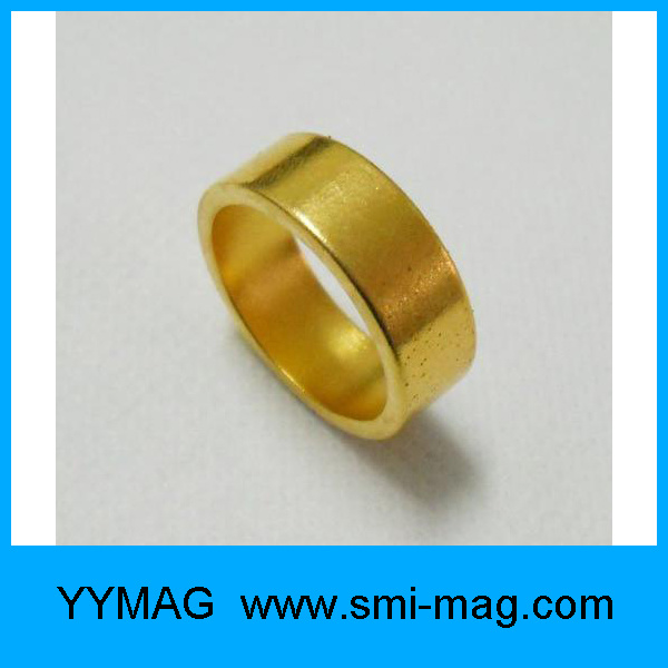The Golden Ring NdFeB Coil Permanent Magnet