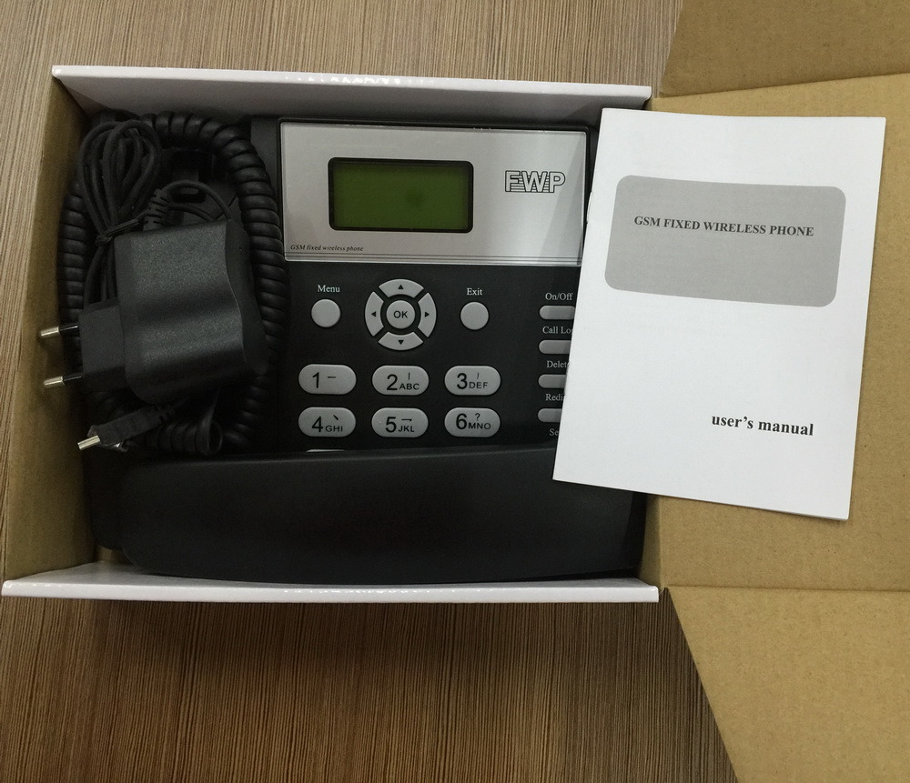 2 SIM Card GSM Fixed Wireless Desktop Phone/GSM Fwp