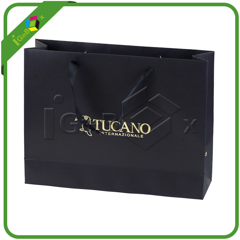 Customized Paper Gift Shopping Bags