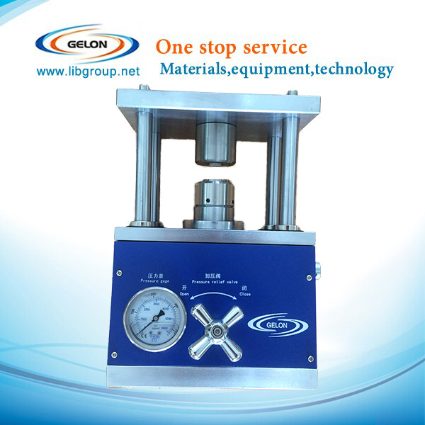 Coin Cell Crimping Machine for Cr20xx Series Coin Cases Sealing Gn-Msk110