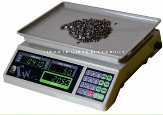 Tw Series Table Scale Price Computing Counting Scale 30kg