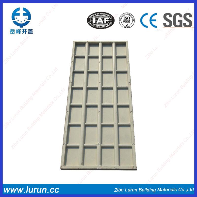 Rectangular Fiber Glass Manhole Cover with SGS