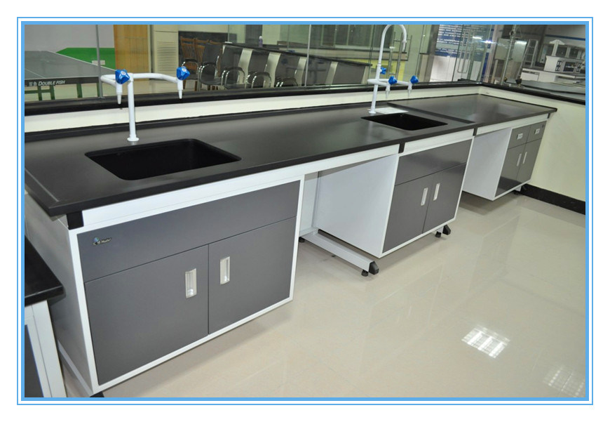 China Trespa Laboratory Furntiure Lab Wall Bench Table Labotaory