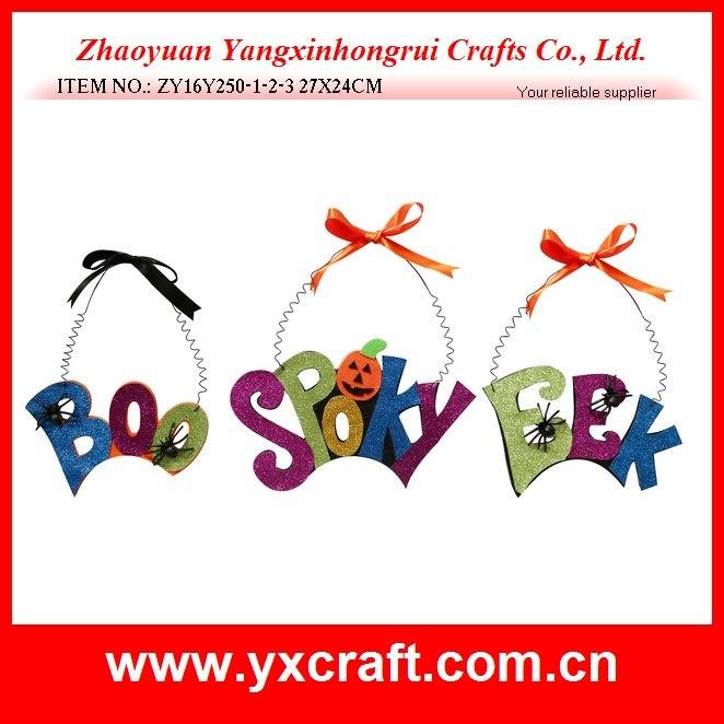 Halloween Decoration (ZY16Y250-1-2-3 27X24CM) Halloween Spider Letter