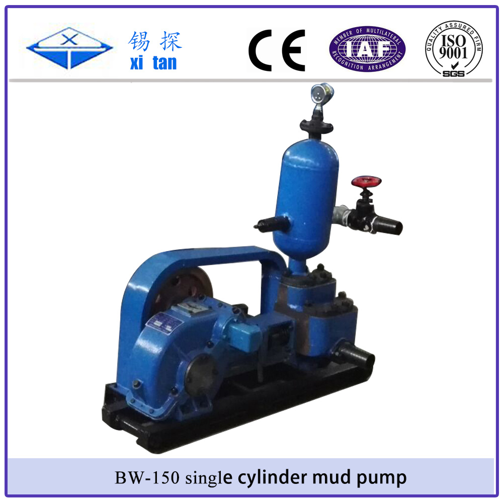 Xitan Bw-160 Single Cylinder Low Pressure Mud Pump Water Pump