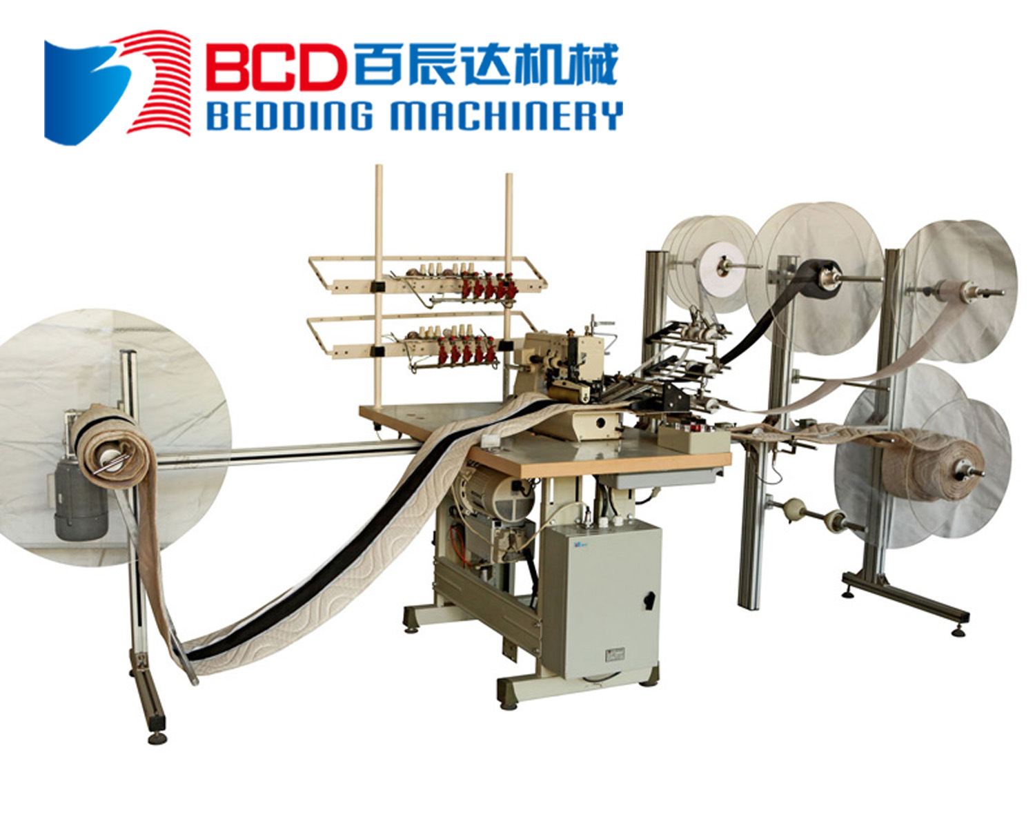 Mattress Border Logo Tape Attaching Machine (BZF)