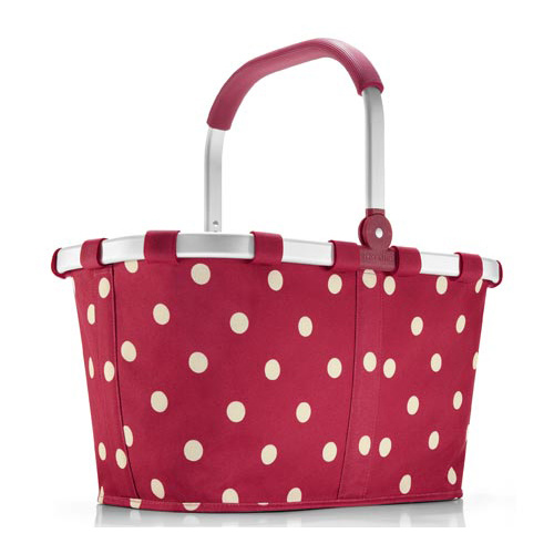 Fabric Picnic Shopping Basket (HBE-B-38)