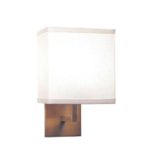 Metal Wall Lamp with Fabric Shade (WHW-812)