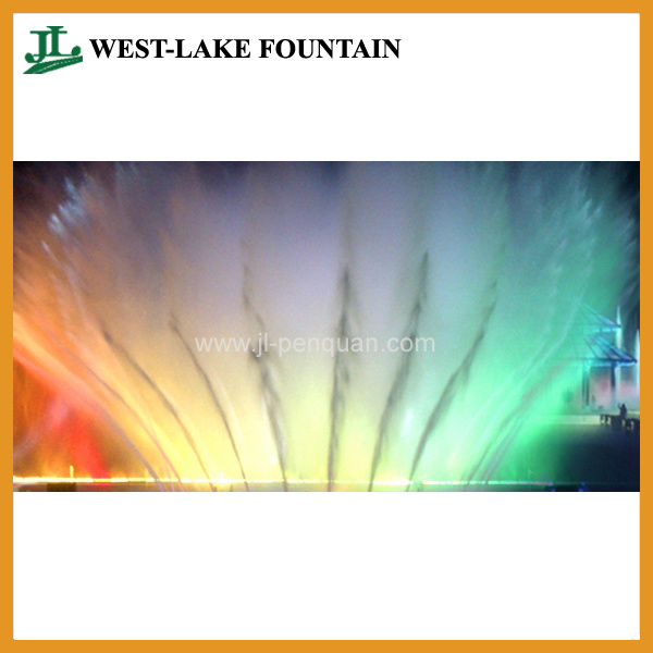 Hundreds of High Spray 170m Length Large Music Floating Lake Fountain