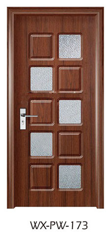 Trustworthy PVC Door (WX-PW-173)