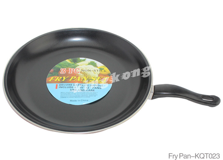 Stainless Steel Fry Pan (KQT023)