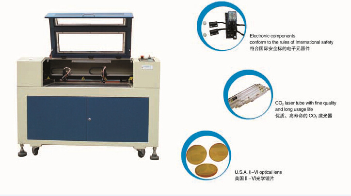 Ce FDA Acrylic Laser Cutting Machine R-1290