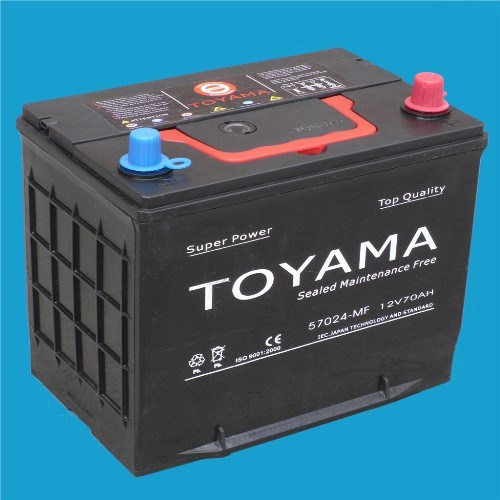 12V70ah Good Quality Mf Auto Battery DIN Standard