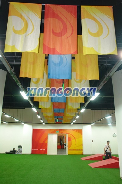 Customized Design Hanging Banner/Flying Banner