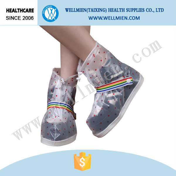 Waterproof Boot Cover Cute PVC Rain Shoe Cover