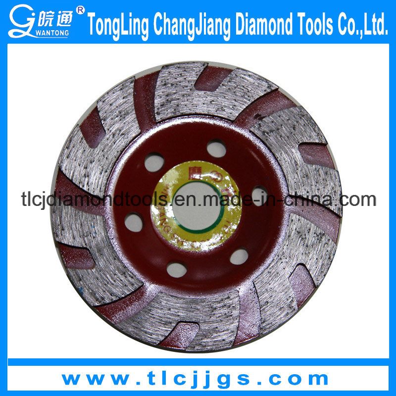 Hot Pressed Turbo Cup Grinding Wheel