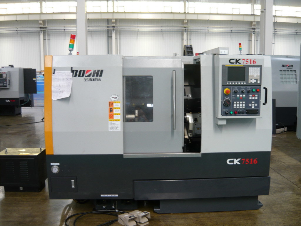 Ck7516 Series Slant-Bed CNC Lathe for Metal Processing