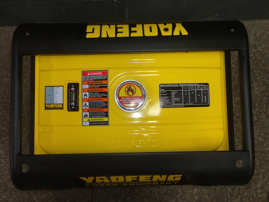 2000 Watts Portable Power Gasoline Generator with EPA, Carb, CE, Soncap Certificate (YFGP2500)