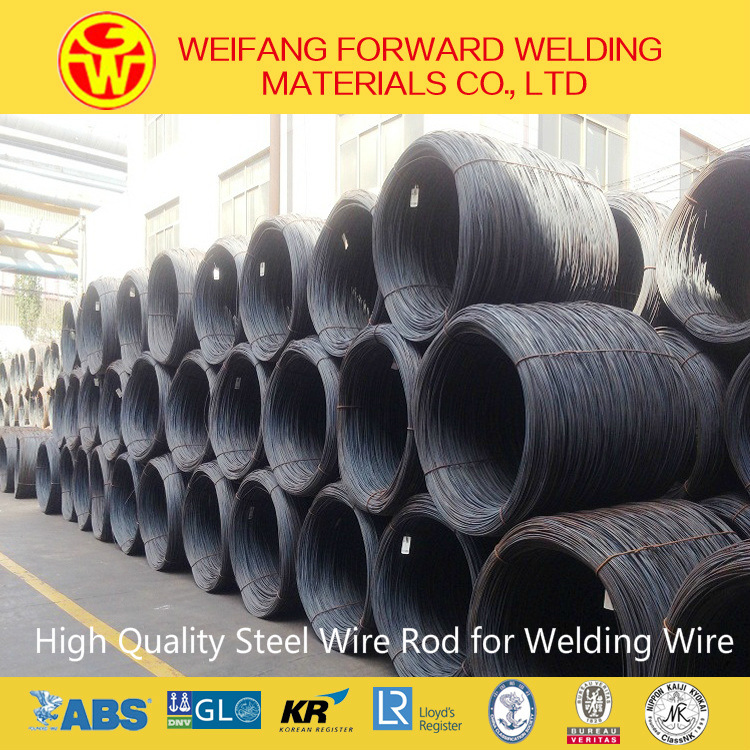 Mag Gas Shielded Welding Wire with Little Welding Slag on The Welding Surface