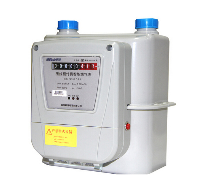 Smart Steel/Aluminum Remote Reading Diaphragm Gas Flow Meter 4.0W