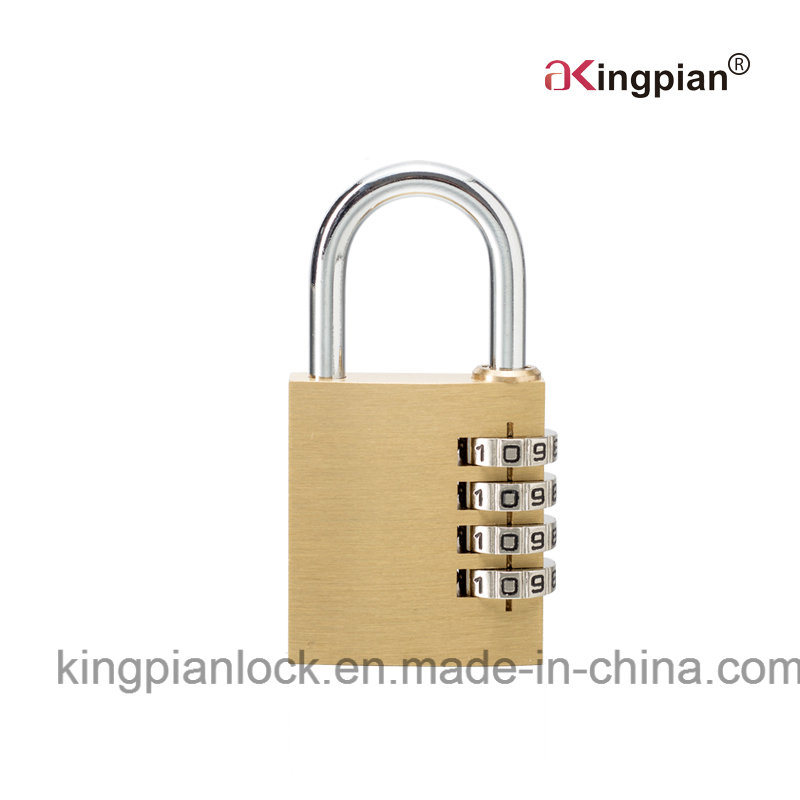 4 Digit Brass Combination Padlock and Code Padlock
