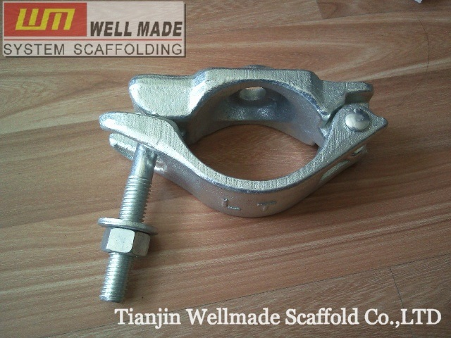 Heavy Od89mm Forged Scaffolding Fitting Half Swivel Coupler
