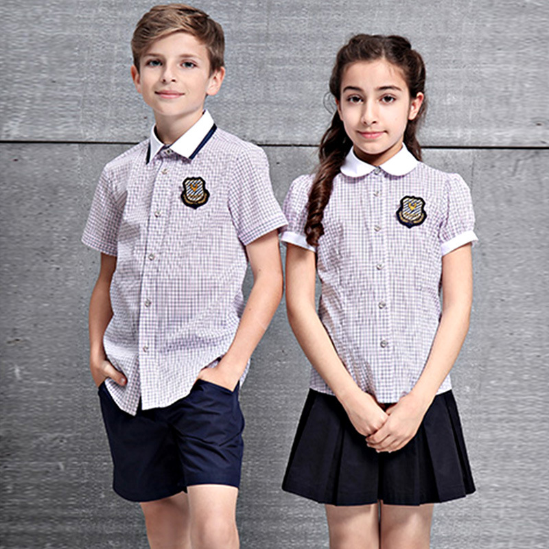 China Unisex Children School Uniform Wholesale Custom Boys ...